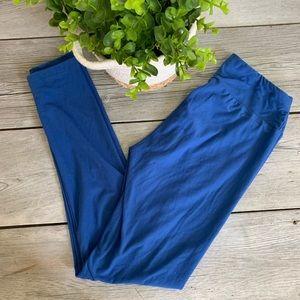 LuLaRoe Blue Soft Skinny Leggings Women's One Size